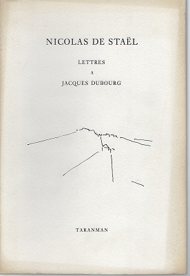 Image for Lettres a Jacques Dubourg