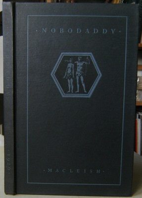Image for Nobodaddy - A Play