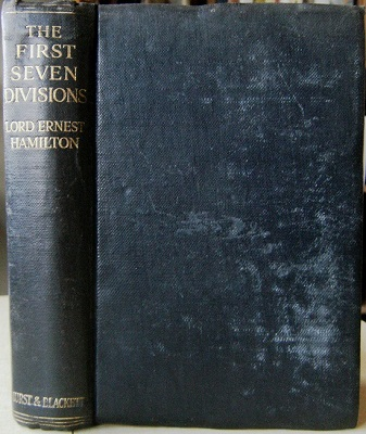 Image for The First Seven Divisions - Being a Detailed Account of the Fighting from Mons to Ypres