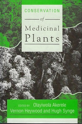 Image for The Conservation of Medicinal Plants