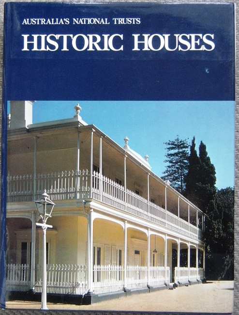 Image for Historic Houses - Australian Council of National Trusts - Heritage Reprints