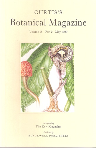 Image for Curtis's Botanical Magazine, Volume 16 Part 2. (incorporating The Kew Magazine). (Curtis).  [Devoted to Japanese plants and gardens]