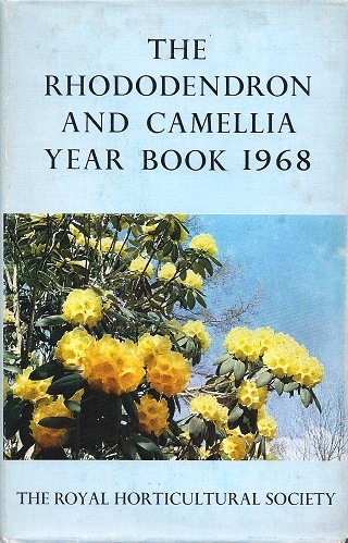 Image for The Rhododendron and Camellia Year Book for 1968 (Yearbook 22)