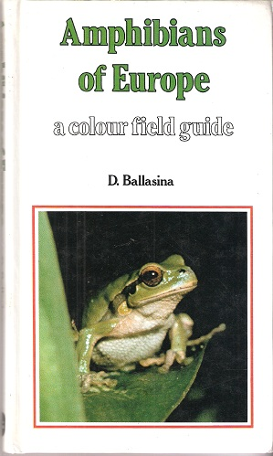 Image for Amphibians of Europe : A Colour Field Guide