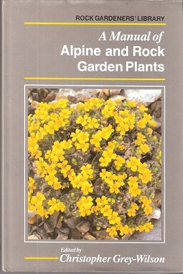 Image for A Manual of Alpine and Rock Garden Plants
