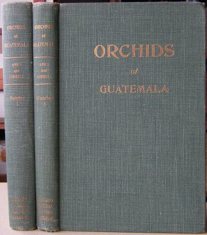 Image for Orchids of Guatemala (2 vols)