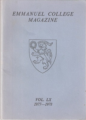 Image for Emmanuel College Magazine Volume LX, 1977-1978