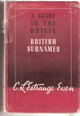 Image for A Guide to the Origin of British Surnames