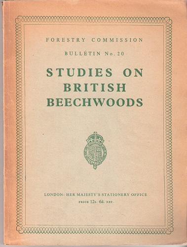 Image for Studies on British Beechwoods