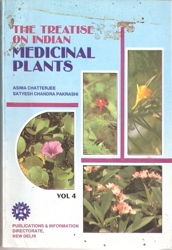 Image for The Treatise on Indian Medicinal Plants. Volume 4