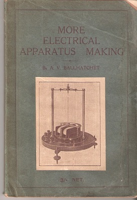 Image for More Electrical Apparatus Making
