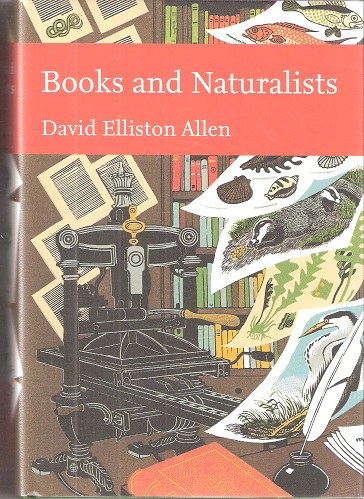 Image for Books and Naturalists (New Naturalist 112]
