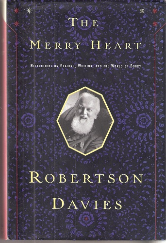 Image for The Merry Heart - reflections on reading, writing and the world of books. [Hardback edition]