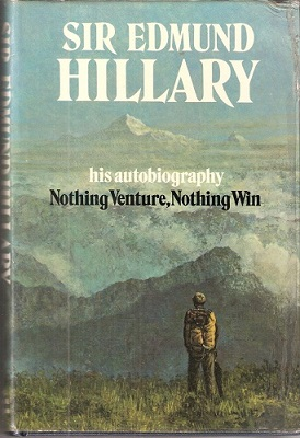 Image for Nothing Venture, Nothing Win (Huxley copy
