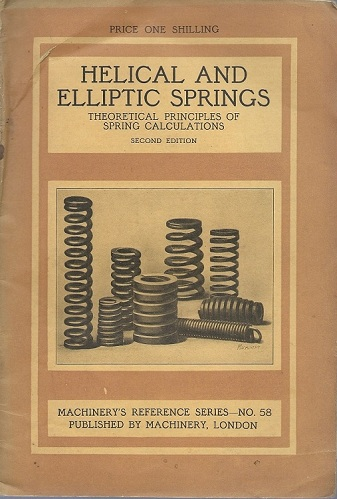Image for HELICAL AND ELLIPTIC SPRINGS