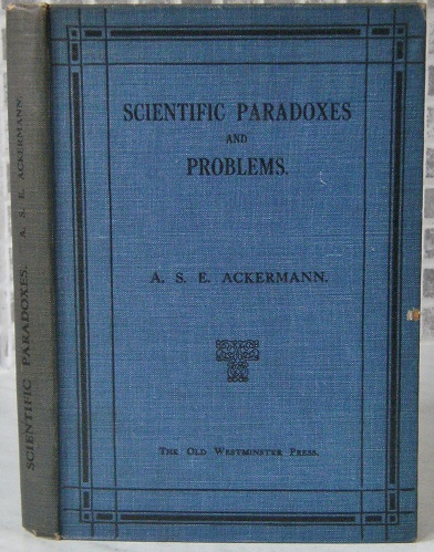 Image for Scientific Paradoxes and Problems, and their solutions