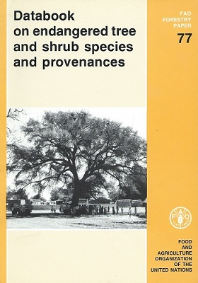 Image for Databook on Endangered Tree and Shrub Species and Provenances