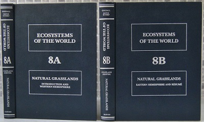 Image for Natural Grasslands. Ecosystems of the World 8A & 8B (two vols)