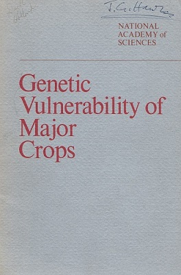 Image for Genetic Vulnerability of Major Crops