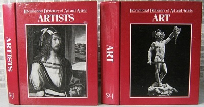 Image for International Dictionary of Art and Artists - Two Volume Set