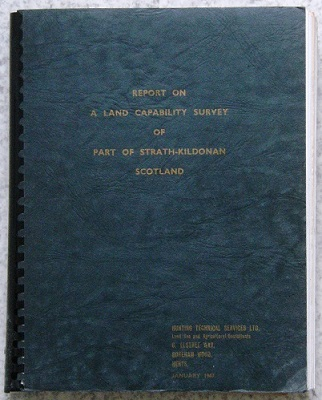 Image for Report on a Land Capability Survey of Part of Strath-Kildonan, Scotland
