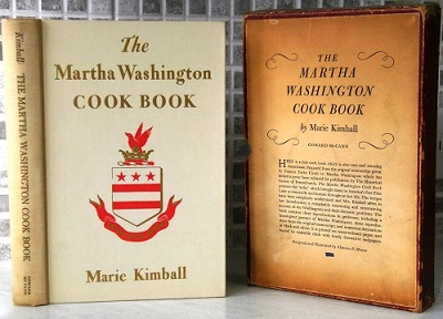 Image for The Martha Washington Cook Book   [Alan Davidson's copy]