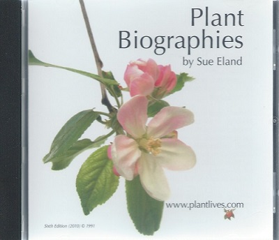 Image for Plant Biographies: Plant's Eye View of the Planet and Man (CD-ROM)