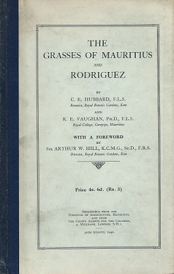 Image for The Grasses of Mauritius and Rodriguez