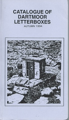 Image for Catalogue of Dartmoor Letterboxes, Autumn 1994