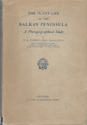 Image for The Plant-Life of the Balkan Peninsula - a phytogeographical study