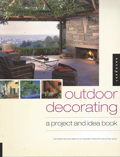 Image for Outdoor Decorating - a project and idea book