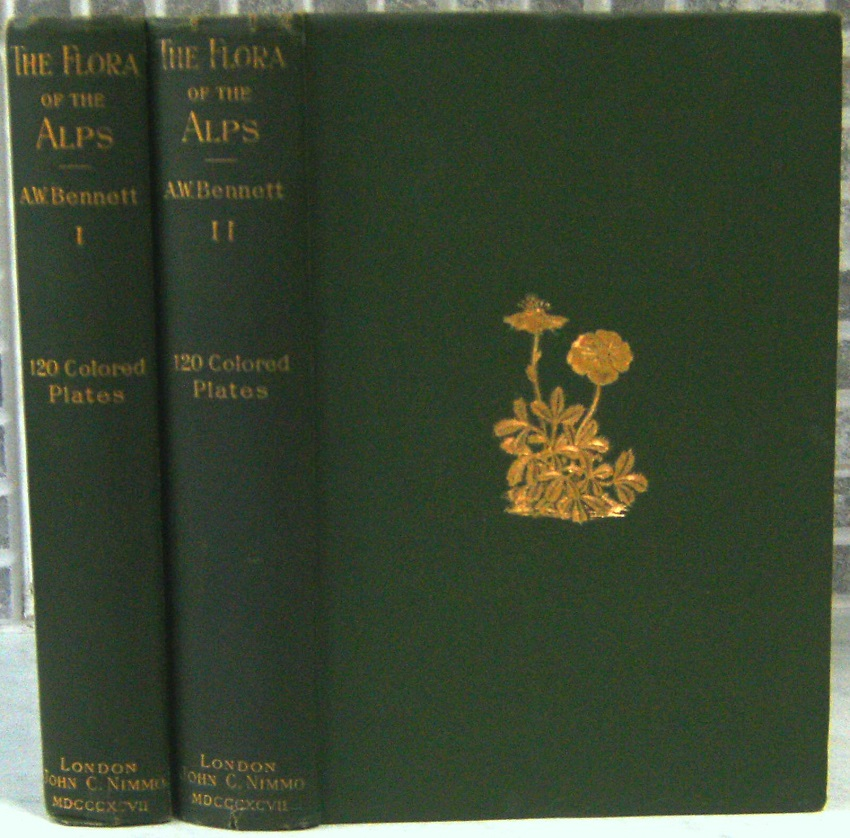 Image for The Flora of the Alps, being a description of all the species of flowering plants indigenous to Switzerland and of the Alpine species of the adjacent mountain districts of France Italy & Austria including the Pyrenees    [Fred Whitsey's copy]
