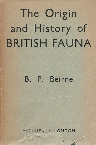 Image for The Origin and History of the British Fauna  (Richard Fitter's copy))