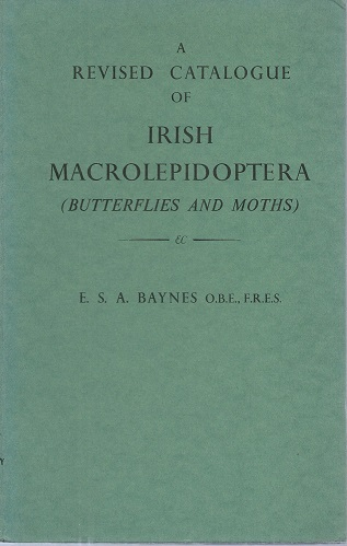 Image for A Revised Catalogue of Irish Macrolepidoptera (Butterflies and Moths)   [Richard Fitter's copy]