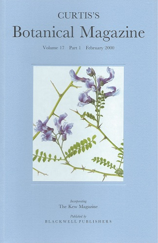 Image for Curtis's Botanical Magazine Volume 17 Part 1 (incorporating the Kew Magazine) -  includes the article 'The Artwork of Curtis's Botanical Magazine'