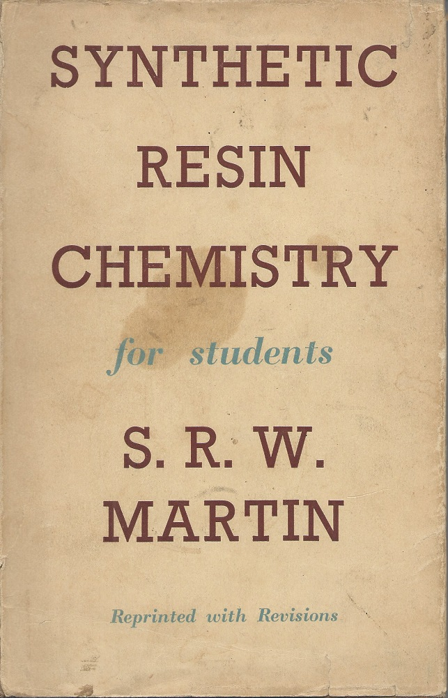 Image for Synthetic Resin Chemistry for Students
