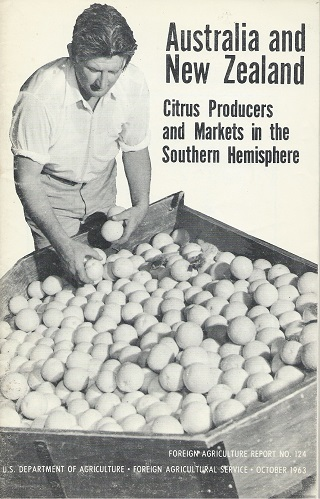 Image for Australia and New Zealand: Citrus Producers & Marketers in the Southern Hemisphere  [Alan Davidson's copy]