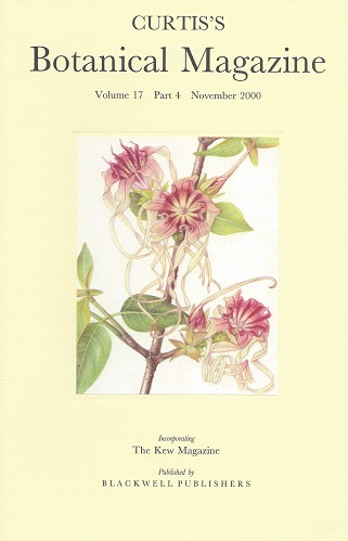 "Image for Curtis's Botanical Magazine Volume 17 part 4 (incorporating The Kew Magazine)  - includes ""The Botanical Magazine and George Bond's drawings of Alan Cunningham's Australian Plants"""