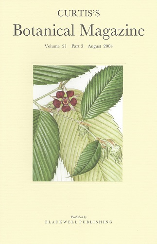 "Image for Curtis's Botanical Magazine Volume 21 part 3 (Kew Magazine) -  includes the short article ""The Botanical Magazine and the Royal Horticultural Society"""