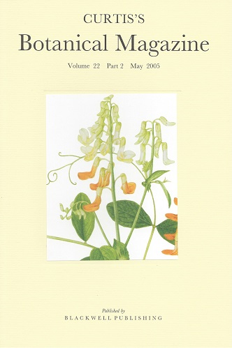 "Image for Curtis's Botanical Magazine Volume 22 part 2 (Kew Magazine ) - includes ""Some Narcissus from Northern Iberia"""
