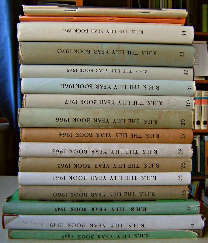 Image for Lily Year Books - an interrupted run of 27 volumes - 1934, 1939, 1946, 1947, 1949, 1950, 1953, 1954, 1960 1964, 1966 - 1976,  1988-9