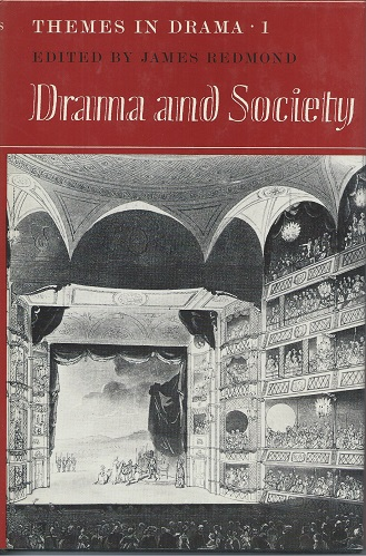 Image for Drama and Society (Themes in Drama Volume 1)