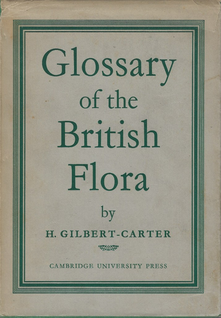 Image for Glossary of the British Flora (Joyce Smith's copy)