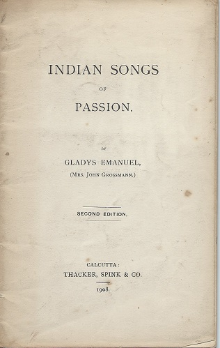 Image for Indian Songs of Passion (poems)