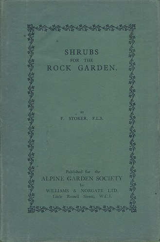 Image for Shrubs for the Rock Garden
