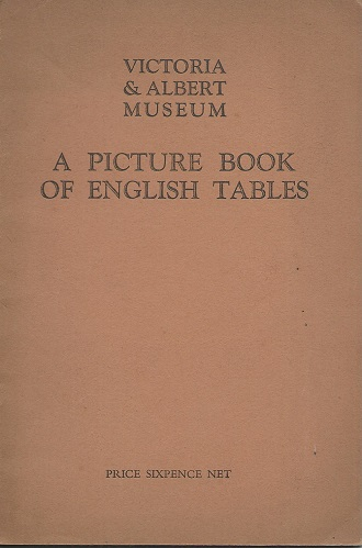 Image for A Picture Book of English Tables