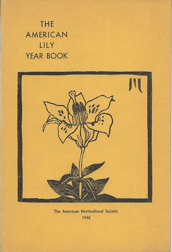 Image for The American Lily Year Book for 1946