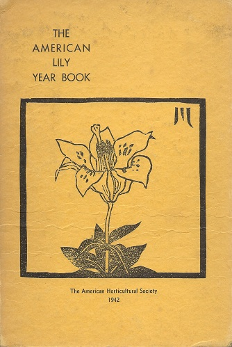 Image for The American Lily Year Book for 1942