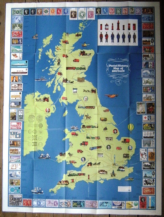 Image for Postal History Map of Britain