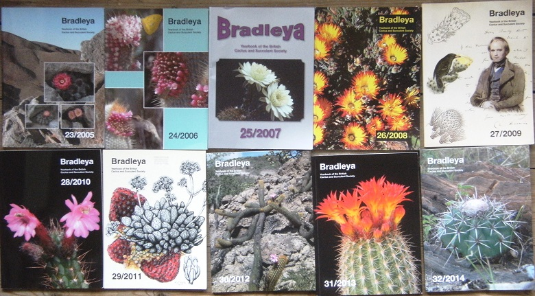 Image for Bradleya 23, 24, 25, 26, 27, 28, 29, 30, 31 & 32 - Yearbook of the British Cactus and Succulent Society